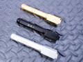 GunsModify アルミ削り出し アウターバレル Salient Arms ボックスフルートタイプ 東京マルイG17/G18C対応