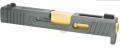 NOVA SALIENT ARMS TIER ONEタイプ GLOCK43 スライドセット BK/GDバレル UMAREX(VFC) GLOCK42 GBB 対応