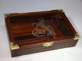 木製 ガラス風防ディスプレイケース COLT刻印 M1911対応