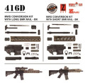 Angry Gun 東京マルイM4MWS用 HK416D コンバージョンキット Black GBB