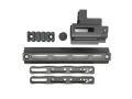 CloneTech PMM型 SCAR M-LOKレイルアダプター/エクステンションキット (マルイ次世代SCAR対応) Black