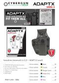 CyberGun SwissArms Universalホルスター ADAPT-X Level3