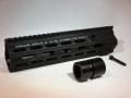 DYTAC Gスタイル SMR 10.5インチ レールシステム WE HK416 GBB対応 BK