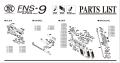 CyberGun/VFC FNS9 GBB パーツ/01-01 スライド[VGCFURV010]