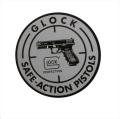 GLOCK SAFE ACTION ステッカー (Size: 4インチ Diameter)