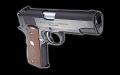Marushin Colt COMBAT COMMANDER BK HW モデルガン