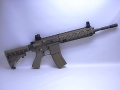 【JPサポート付】WE HK416 GBB TAN オープンボルト