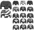 DETONATOR アルミスライドプレート マルイ Glock19/17 GEN4対応 各種(RP01-09)