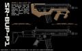 SRU WE SCAR-L GBB ブルパップコンバージョンキット SR-BUP-P1