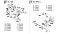 Umarex HK45CTパーツ 03 ロアフレームASSY/Black JP RealMarking