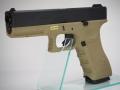 WE G17 Gen.3 GBB TAN (グロック17 ガスブローバックガンシリーズ)