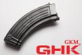 GHK AK47/AKM用 スチールガスマガジン 30連