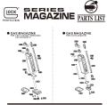 Umarex Glock17マガジンパーツ/01-01 マガジンリップ [VGC0MAG033]