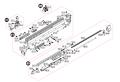 CyberGun/VFC FN SCAR-H GBBRパーツ/08-19ボルトキャッチレバー