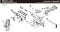 VFC MP7AEGパーツ/01-01 レシーバー [V0B0LRV010]