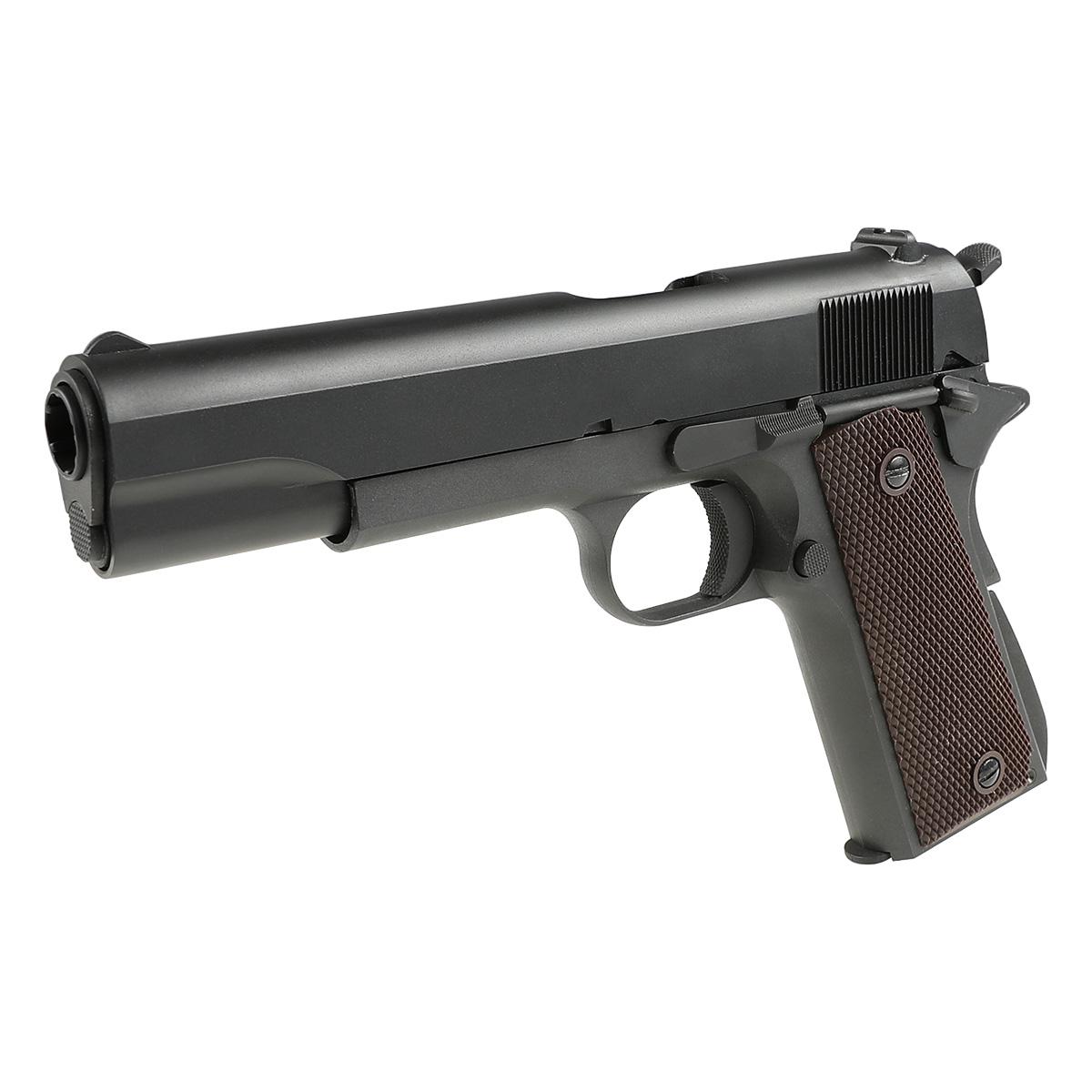SRC 1911 ガスブローバックピストル ハードケース付