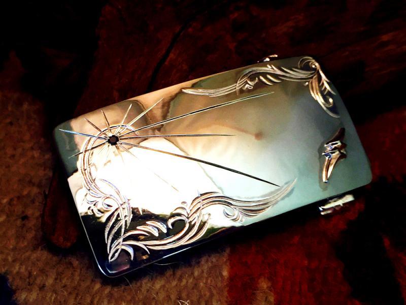 ブラックダイヤモンド with アラベスクプレーンバックル CC-BW017