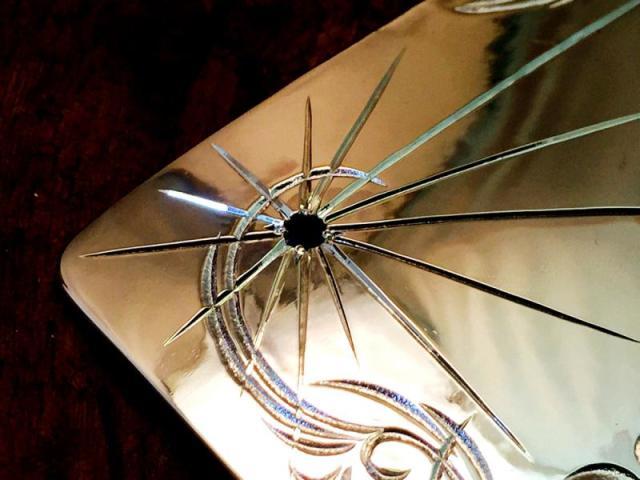 ブラックダイヤモンド with アラベスクプレーンバックル CC-BW017 -2