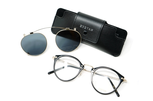 EYEVAN / アイヴァン E-0505(45) Clip on Sunglass G-BK