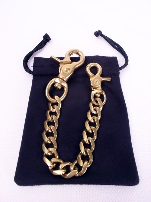 STUD x Back Drop Leathers/ WALLET CHAIN