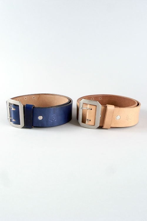 "ANDFAMILY /アンドファミリー Leather Belt  ""Plain"""