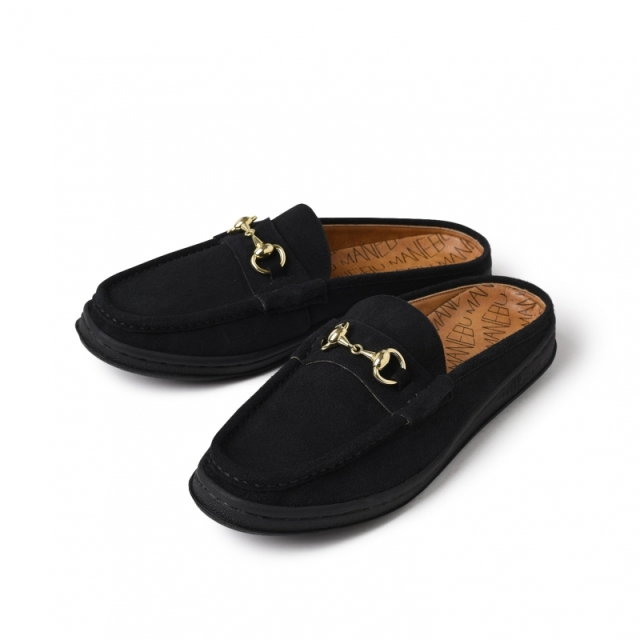 MANEBU/マネブ BITCH SLIPPER SUEDE