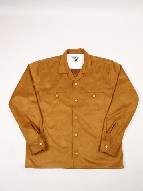 ANDFAMILY /アンドファミリー E-SUEDE SHIRTS