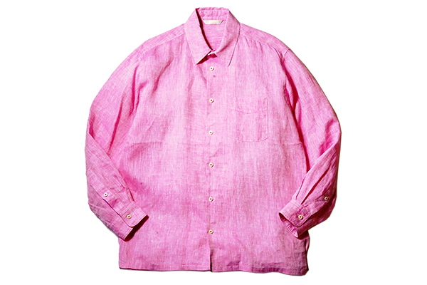 ANDFAMILYS /アンドファミリーズ French Linen Chambray Shirts
