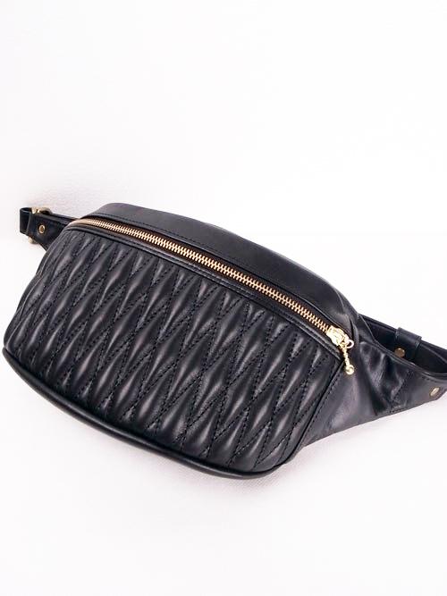 BACKDROP Leathers/バックドロップ・レザーズ DIA WAIST BAG