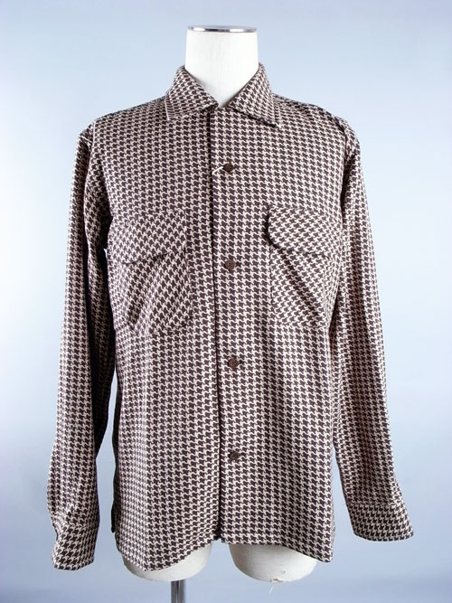 ANDFAMILY/アンドファミリー Mr.GOODMAN&PARTNERS Houndstooth Open Shirts