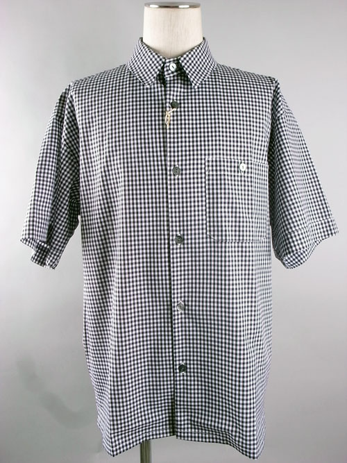 Mr.Goodman&Partners/ミスタ-グッドマン&パートナーズ Gingham Check S-Shirts