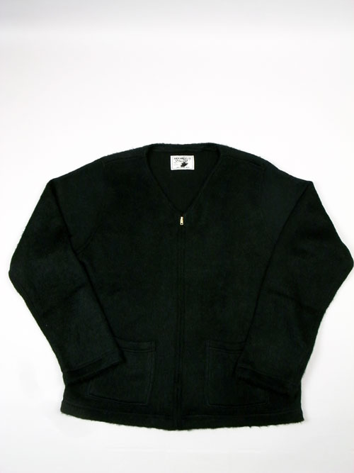 ANDFAMILY /アンドファミリー Shaggy ZIP Cardigan