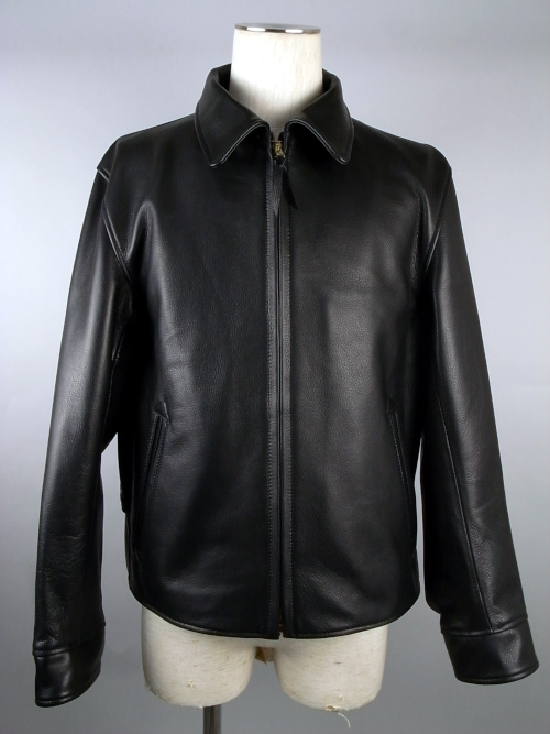 ANDFAMILY /アンドファミリー LEATHER SPORTS JKT