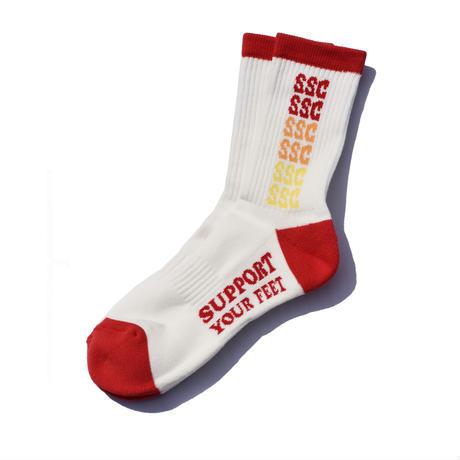 SURF SKATE CAMP/サーフスケートキャンプ  Rainbow socks