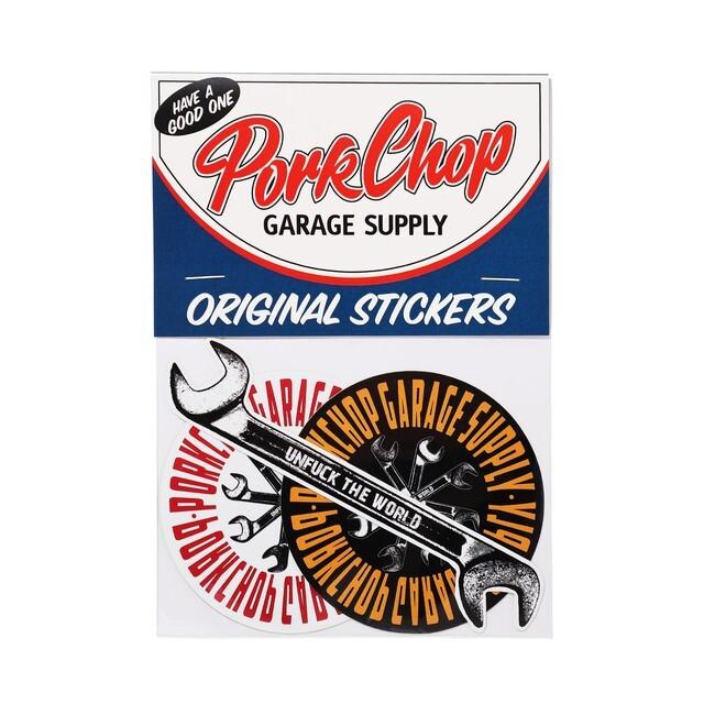 PORKCHOP GARAGE SUPPLY/ポークチョップ ガレージサプライ Wrench STICKER SET