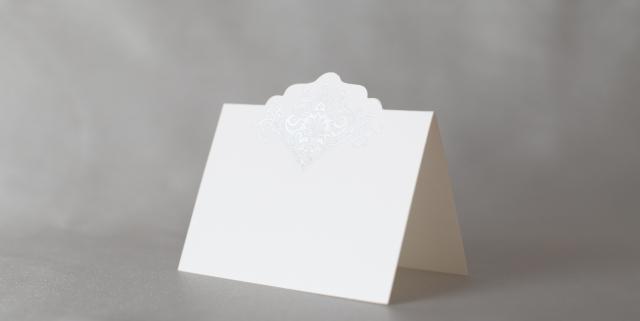 結婚式 席札 ミロワール