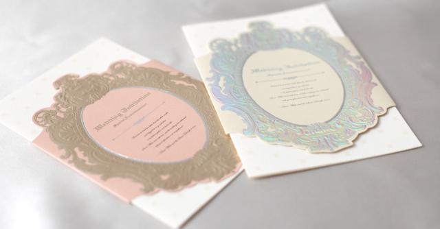 ミロワール結婚式招待状