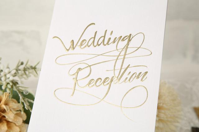 結婚式席次表A3アルジェンテ