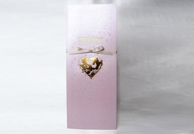 シャイニー結婚式席次表A3サイズ(ピンク)