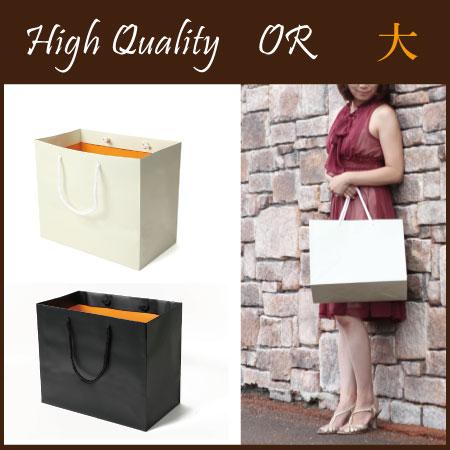 引き出物袋OR(大) (結婚式 引き出物袋  ギフト  引き出物 紙袋 ブライダルバッグ 内祝い プレゼント ウェディング )