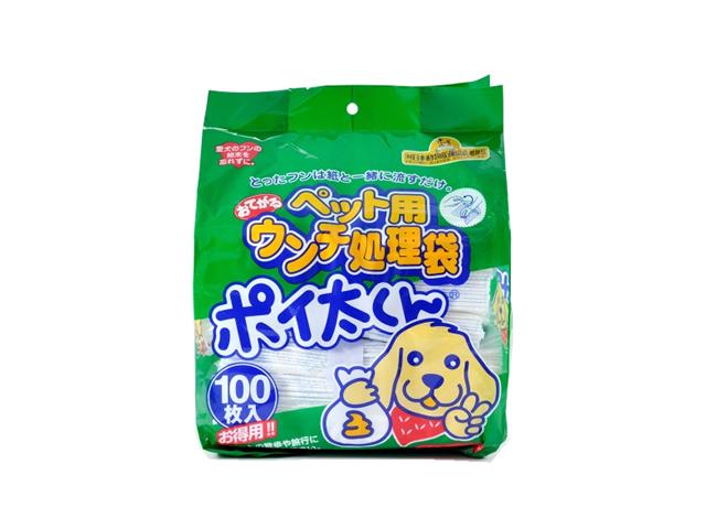 ペット用おてがるウンチ処理袋ポイ太くん US-100