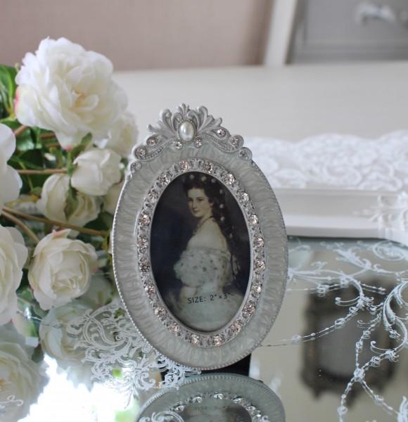 エナメルストーン 写真立て フォトフレーム プチフォトフレーム アンティーク風 シャビーシック フレンチシャビー 姫系 テーブル