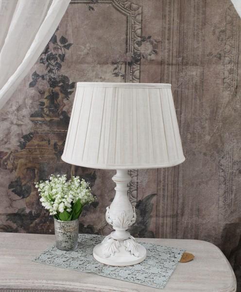アンティークスタイルの卓上ランプL 【Blanc Mariclo ブランマリクロ】 デスクランプ 照明 ランプ シャビーシック アンティ