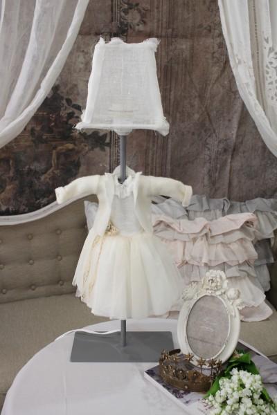 アンティークなランプ BORGO DELLE TOVAGLIE(ボルゴ デレ トヴァーリ) 卓上ランプ・ドレス LED対応 輸入品 シャビーシ