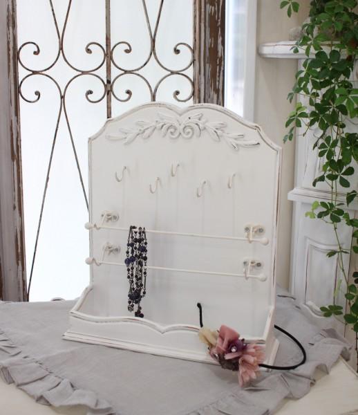 カントリーコーナー ジュエリーラック アクセサリースタンド(壁掛け可)ロマンス コレクション アンティーク 雑貨 シャビーシッ