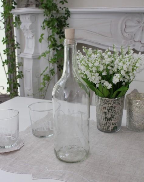 アンティークなボトルエンジェル 【フランス コテターブル】 ワインボトル ガラス製 COTE TABLE シャビーシック アンティー