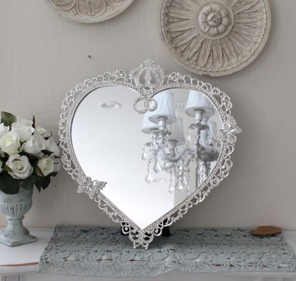 アンティーク風・雑貨 (ジュエルミラー000) 卓上ミラー 壁掛けミラー 鏡 可愛い  シャビーシック  フレンチカントリー アン