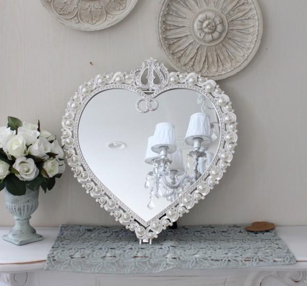 アンティーク風・雑貨 (ジュエルミラー003) 卓上ミラー 壁掛けミラー 鏡 可愛い  シャビーシック  フレンチカントリー アン