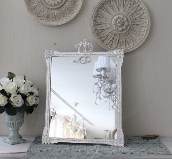 アンティーク風・雑貨 (ジュエルミラー004) 卓上ミラー 壁掛けミラー 鏡 可愛い  シャビーシック  フレンチカントリー アン