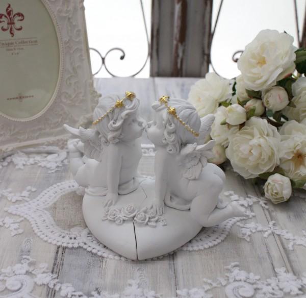 エンジェル オブジェ(087) 天使置物 ホワイト 可愛い ロマンティック 姫系 癒し ホワイト アンティーク風